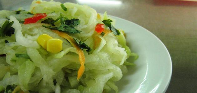 Ensalada de Chayote Recetas Vegetarianas