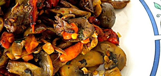 cocina vegetariana champiñones con zanahorias