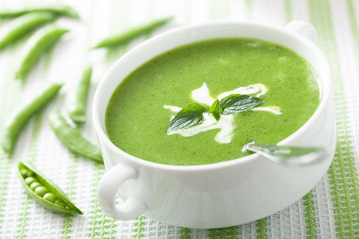 Receta de Crema Verde Tofu Vegano