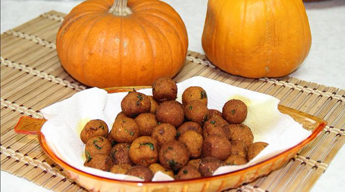 Receta Vegetariana Croquetas de Calabaza Zapallo