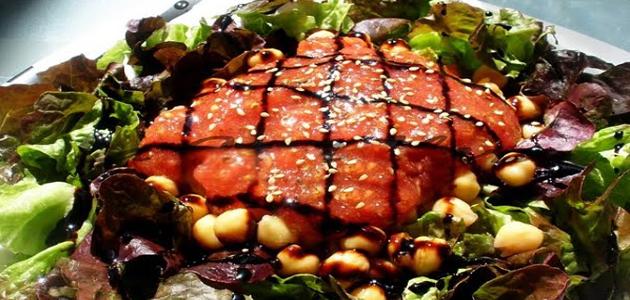 Ensalada Bolognesa Garbanzos Recetas Vegetarianas