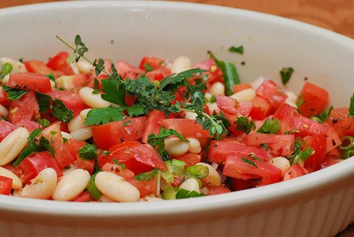 Una deliciosa ensalada con un toque fresco y singular