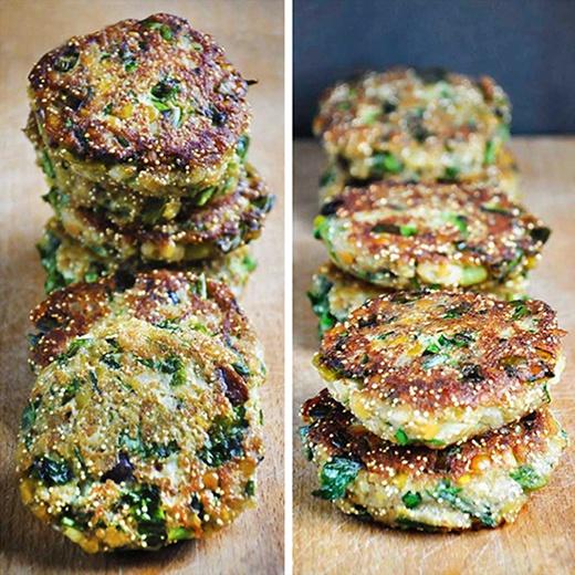 Receta de Hamburguesas Veganas con Lentejas y Amaranto