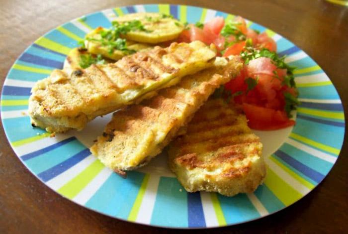 Receta de Cocina Milanesas de Berenjenas