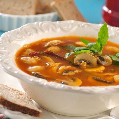 Una deliciosa y sencilla sopa para reanimarnos en un día frío