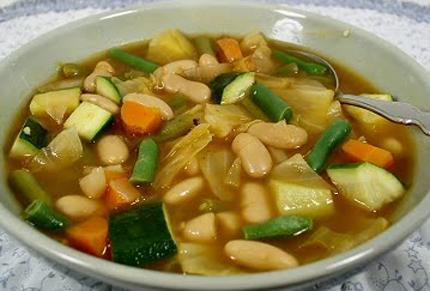 Sopa Jardinera Vegetariana