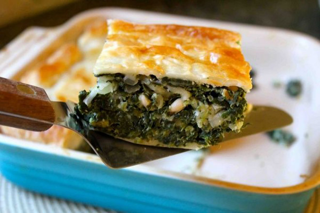 Recetas de Tarta de Espinaca Vegan