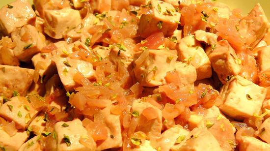 Tofu rosa recetas vegetarianas