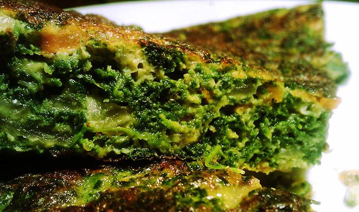 Receta Tortilla Acelga Vegan Vegetariano