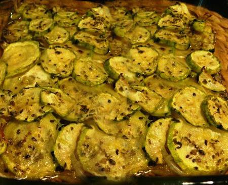 Zucchini al horno recetas vegetarianas